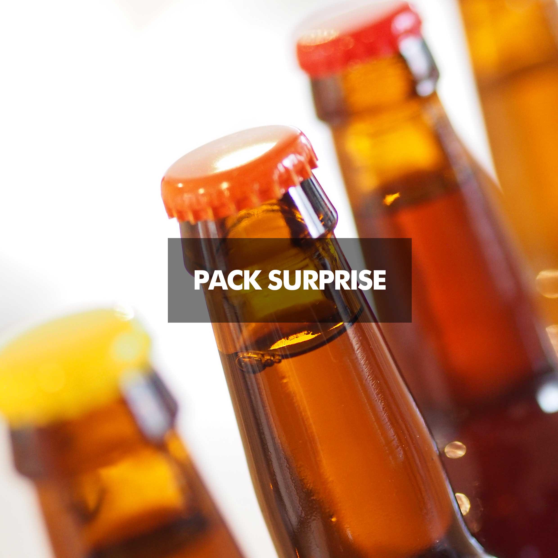 Pack de 8 bières de brasseries invités, que du bon.